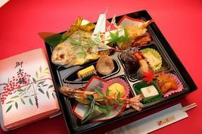 慶(よろこび)と赤飯折詰