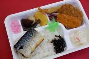 焼き魚&ミックスフライ弁当